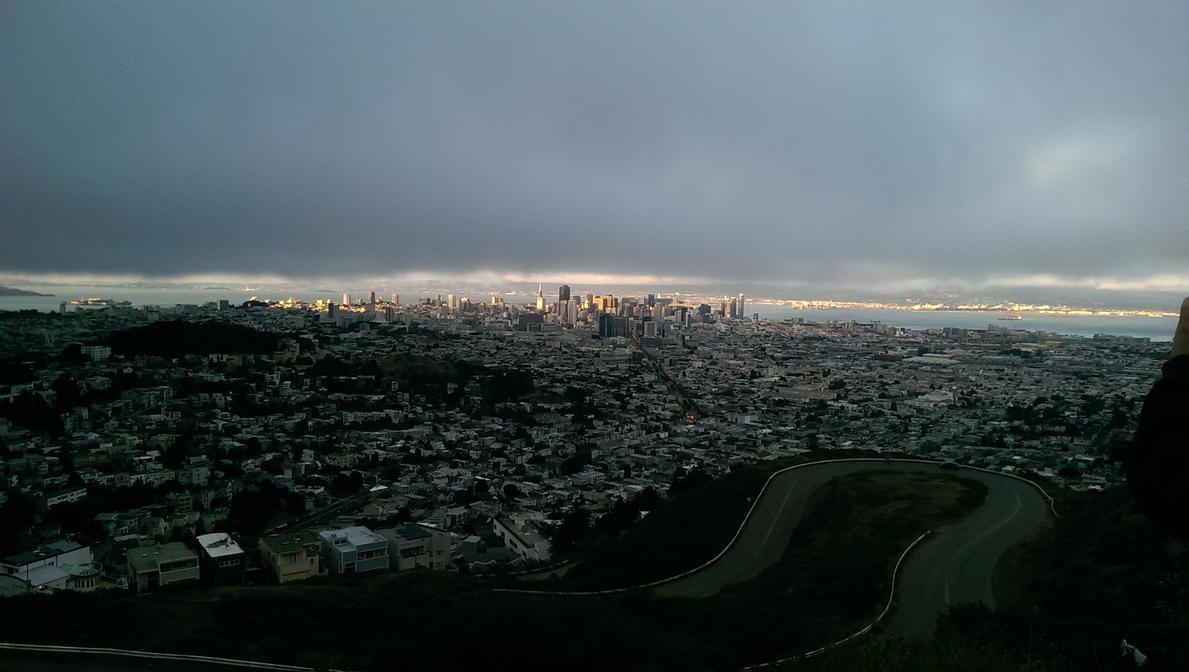 SFO from Twin Peaks by CaseyDN