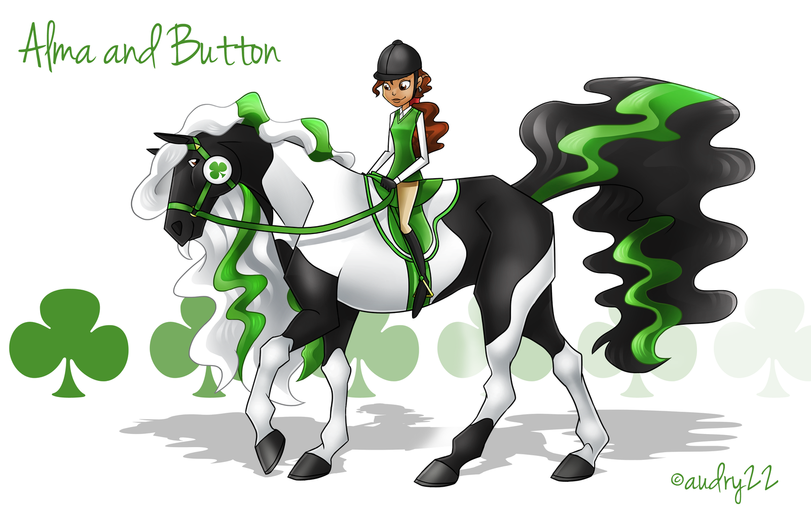 Cartoon Characters Named Zoe : Alma and button by audry on deviantart