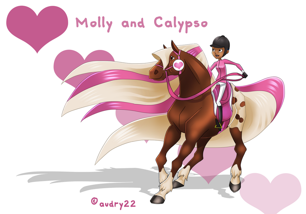 Horseland Molly And Calypso V V Top 2019
