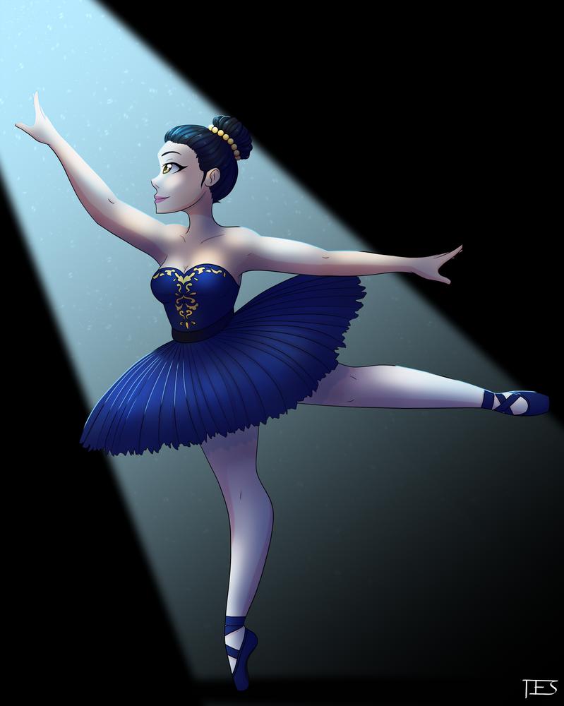 Ballerina Redraw by SparrowDraws