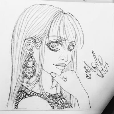 Sketch: New profile picture by AgloAros