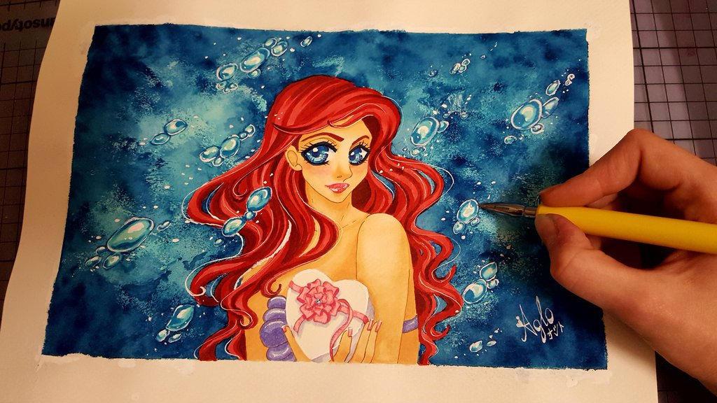 Arielle Mermaid by AgloAros