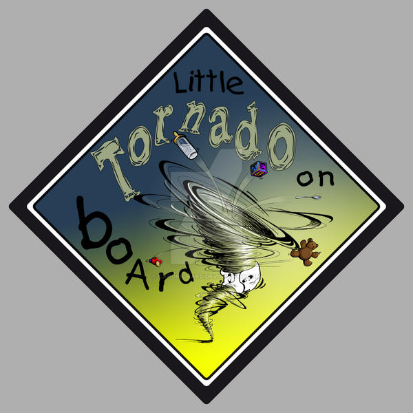 Little tornado on board by CaroRichard