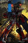 Transformers Sentinel Prime and Laserbeak