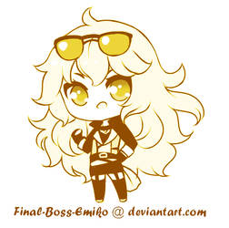 Monochrome Yang by Final-Boss-Emiko