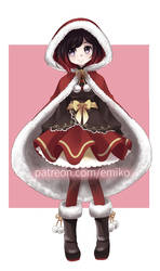 Xmas Ruby by Final-Boss-Emiko