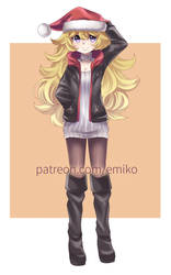 Xmas Yang by Final-Boss-Emiko