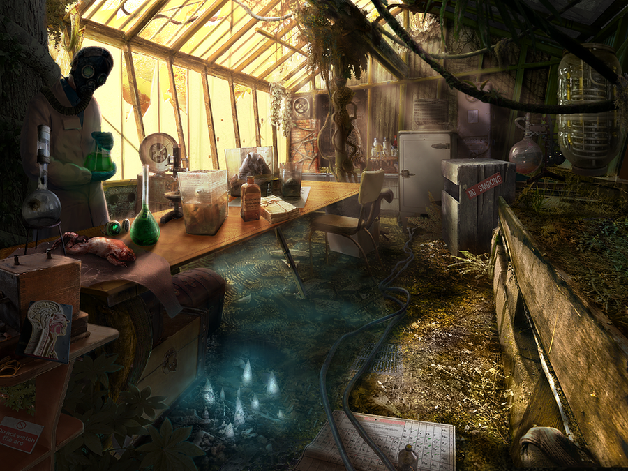 Greenhouse lab by Nemo-Li