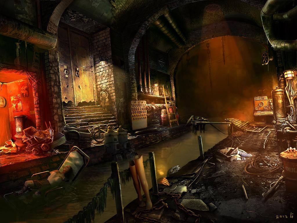 Sewers by Nemo-Li