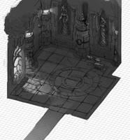 Isometric Level sketch