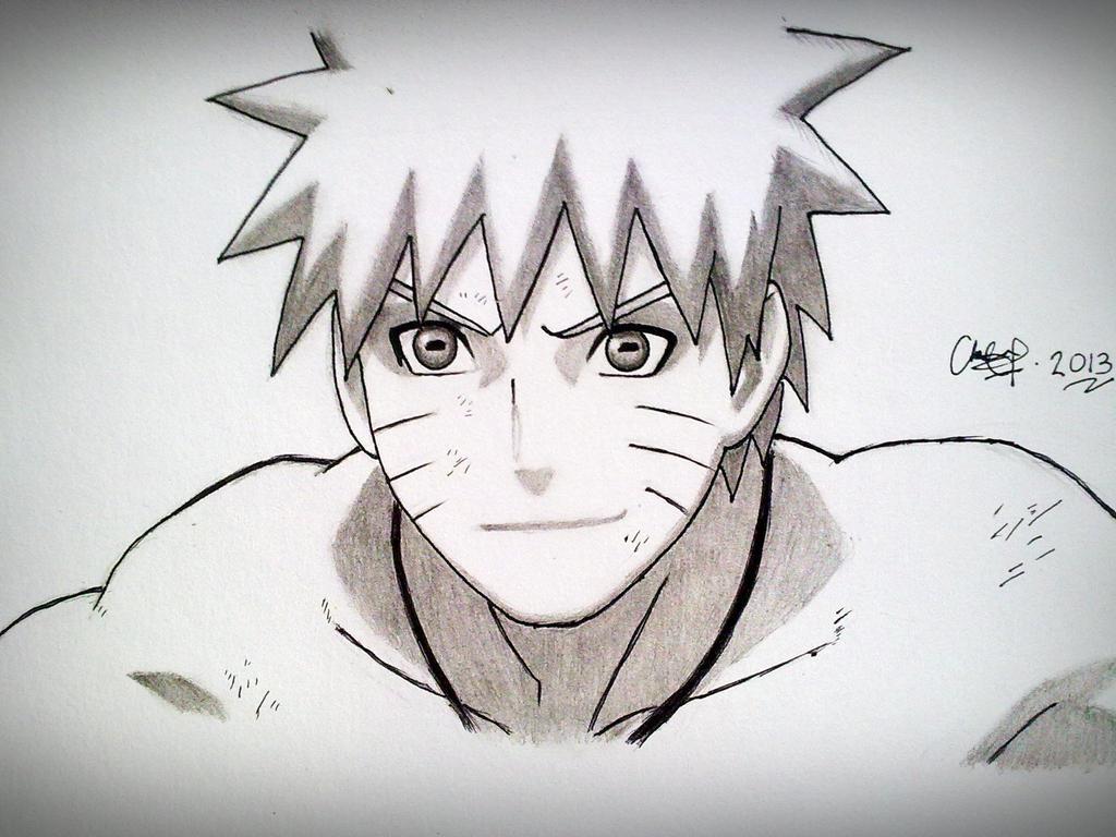 Naruto - Sage Mode 2 by Naruto Uzumaki Sage Mode Drawing