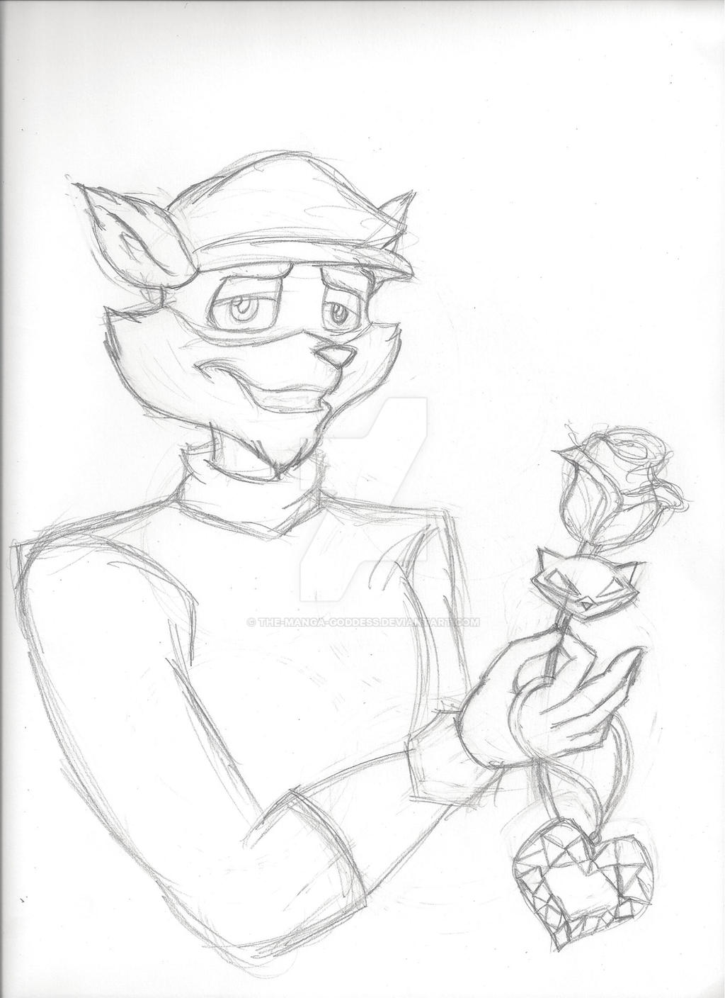 Sly Cooper Valentine's Day Pic by The-Manga-Goddess