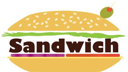 Sandwich Logotype by The-Manga-Goddess