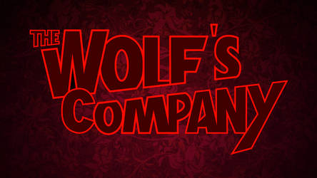 The Wolf's Company Title Logo by The-Manga-Goddess