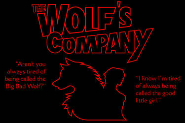 The Wolf's Company Title Design by The-Manga-Goddess