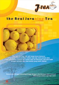 lemon tea poster by findra