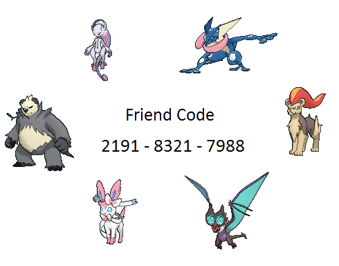 Pokemon x and y friend safari slots