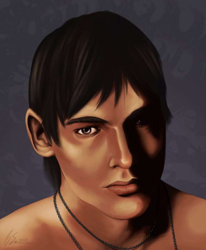 Painting Practice: Connor by blitterbug