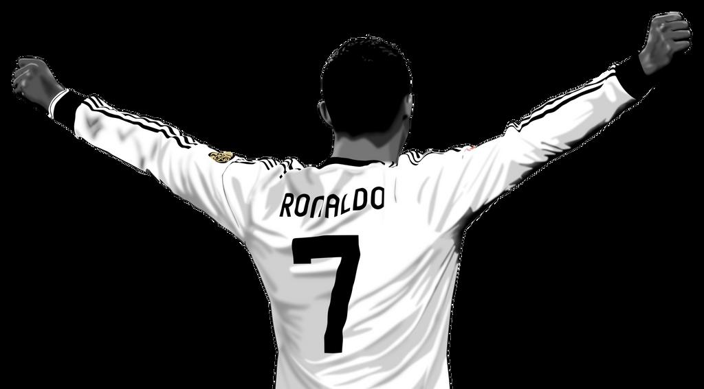 how to draw ronaldo logo