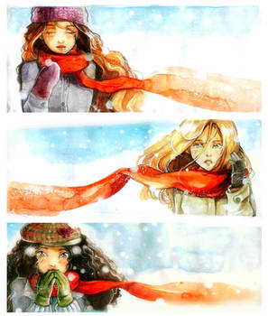 Vermillion Snow