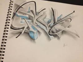 graffiti by jaimel909