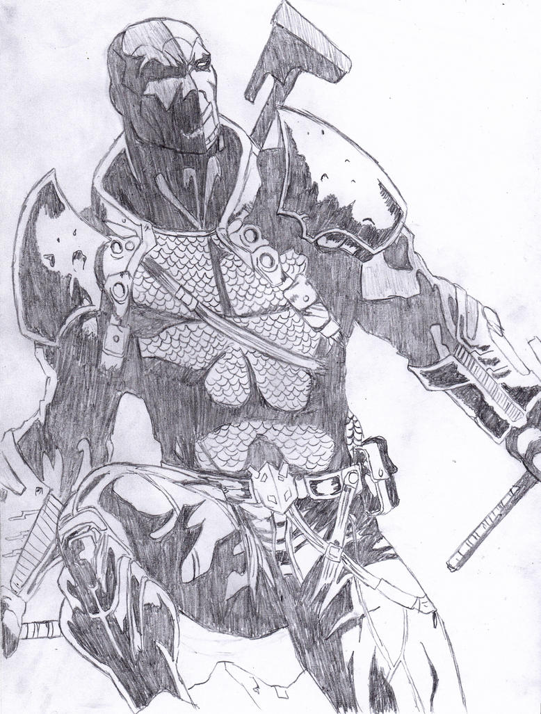 Deathstroke by Magribb...