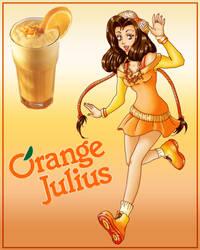Orange Julia by r-e-v-e