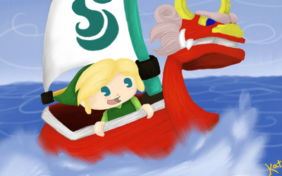 Wind Waker - Adorable by KatChaotic