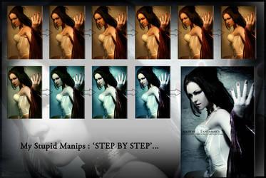 My stupid manip StepByStep by fantasmica