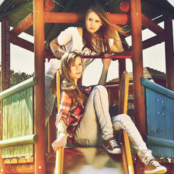 Celina and Natalia 03 by fantasmica