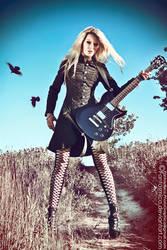 Ula vs Guitar 06 by fantasmica