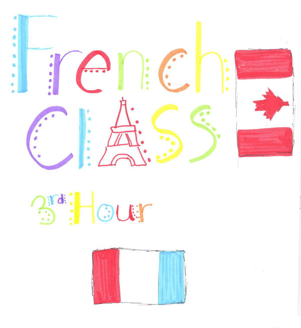 French Class Binder Cover By 70v3-71k3-w1nt3r On DeviantArt