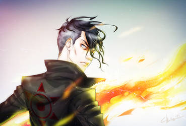 A the witch by idaiku17