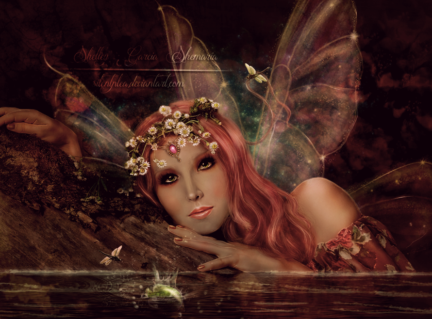 Pond Fairy by SilentPlea