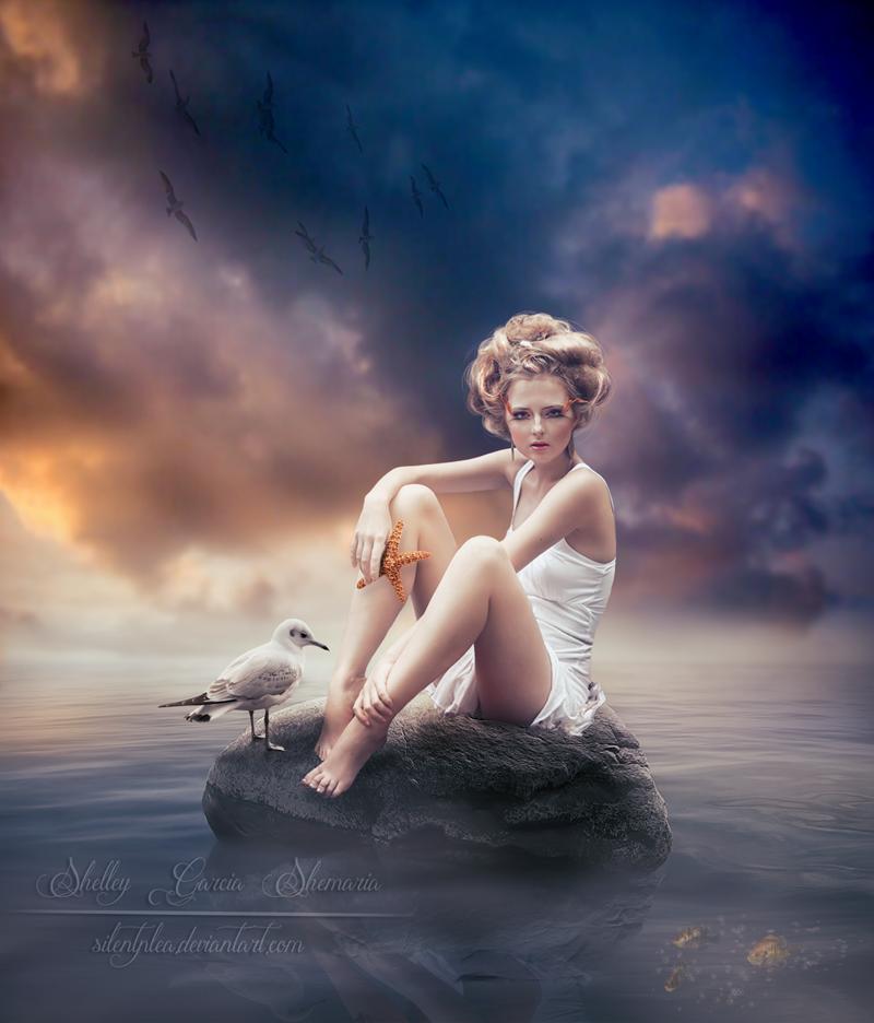 Sea Rock by SilentPlea