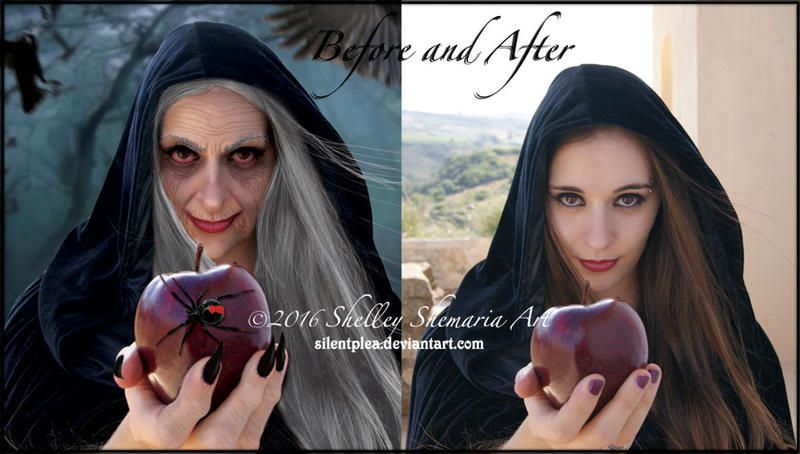Witch before-and-after