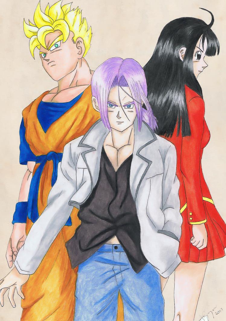 Future story - Dragon Ball by elfaba1993