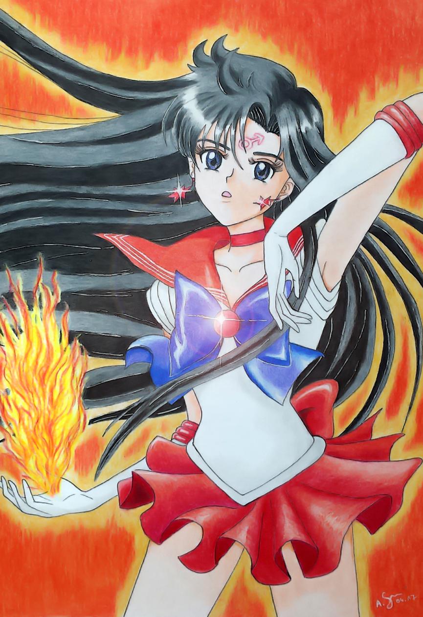Sailor Mars by elfaba1993