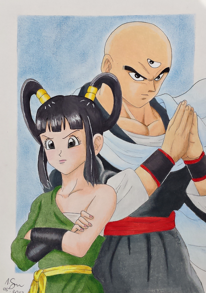 Yurin and Tien Shinhan by elfaba1993