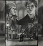 Harry and Hermione by elfaba1993