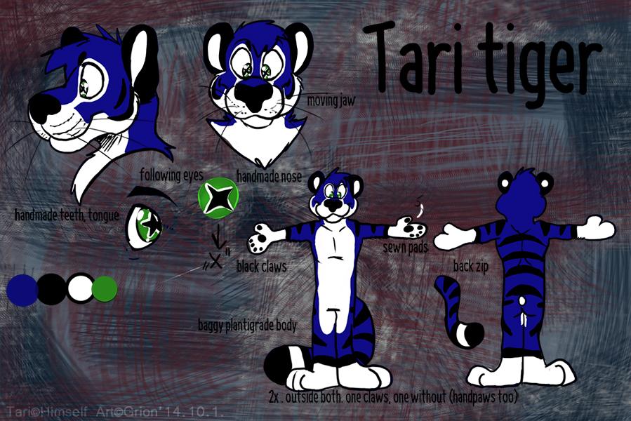 Tari fursuit plan by Grion