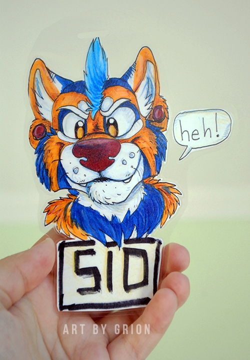 Sid badge by Grion