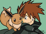 Gary and Eevee by flute-soloist