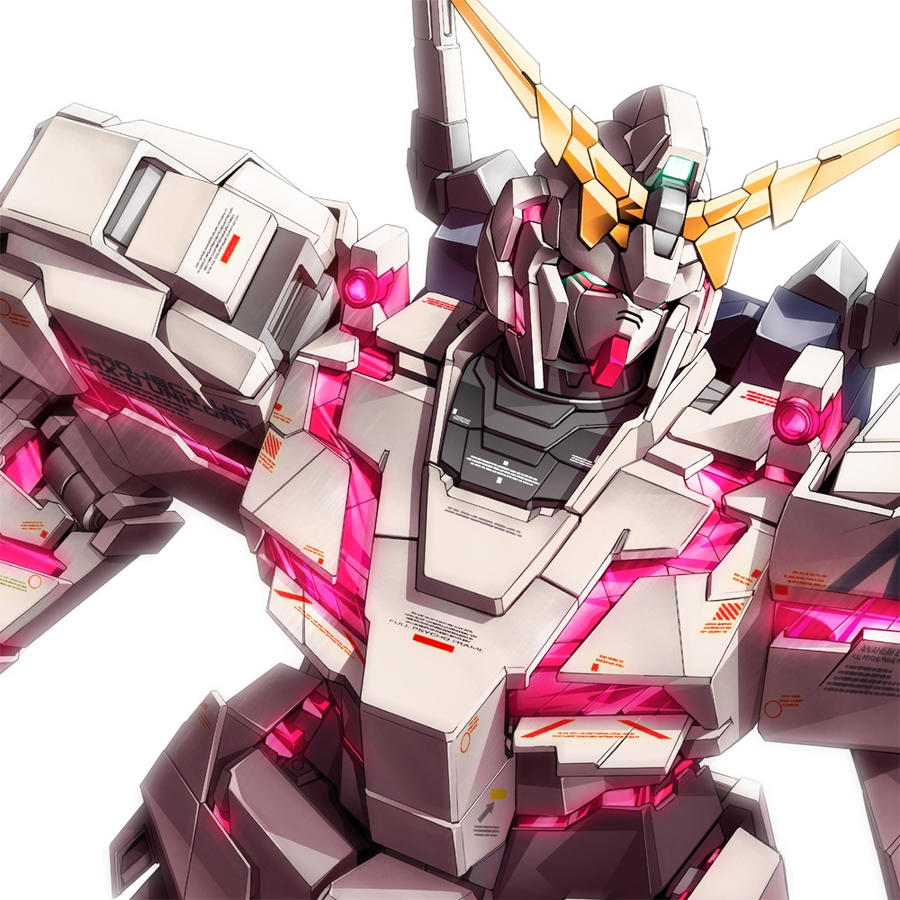 Unicorn Gundam Avatar Pic by SuperSensei