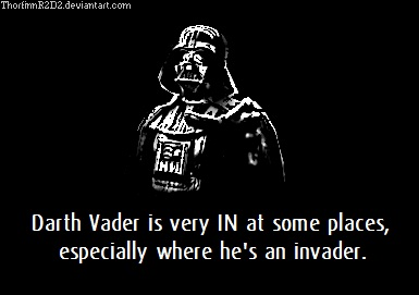 Darth Vader is IN by ThorfinnR2D2