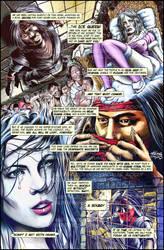 ninja page 1 colour by keithdraws