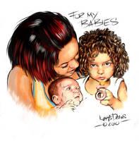 My Babies by keithdraws