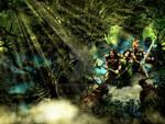 The Dark Forest Landscape