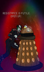 Borg Vs. Dalek by systemcat