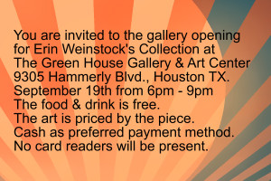 Invite Card to Gallery Opening by systemcat